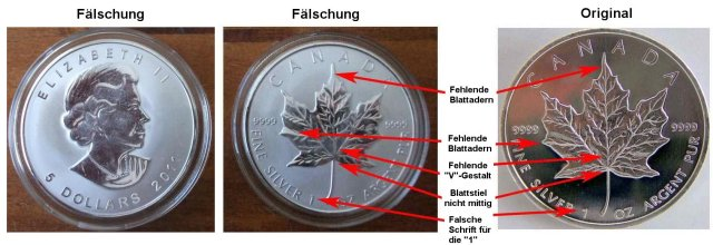 Silberf 228 Lschungen Fake Silver